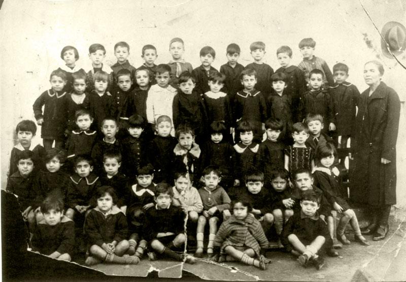 Pic#4 Saloniki, Greece, 1928-29 First grade students in Alliance school.jpg